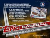 2017 Topps Series 2 Baseball Hobby Jumbo Box (Presell) (PLUS 2 Silver Packs!)