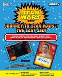 Star Wars Journey to The Last Jedi Trading Cards Hobby 12-Box Case (Topps 2017) (Presell)