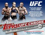 2017 Topps UFC Chrome Hobby 12-Box Case (Presell)