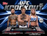 2017 Topps UFC Knockout Hobby 12-Box Case (Presell)
