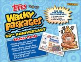 Wacky Packages 50th Anniversary Hobby Collector's Edition 8-Box Case (Topps 2017) (Presell)