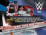 2017 Topps WWE Then, Now, Forever Wrestling Hobby 12-Box Case (Presell)