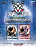 2017 Topps WWE Undisputed Wrestling Hobby 8-Box Case (Presell)