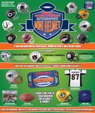 2017 TriStar Hidden Treasures Autographed Mini Helmet Football Hobby 10-Box Case (Presell)