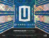 2017 Panini Unparalleled Football Hobby 16-Box Case (Presell)