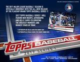 2017 Topps Series 1 Baseball Hobby Jumbo 6-Box Case (Presell) (PLUS 12 Silver Packs!)