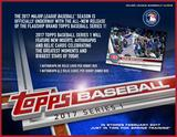 2017 Topps Series 1 Baseball Hobby 12-Box Case (Presell)