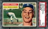 1956 Topps Baseball #173 Johnny Podres PSA 7.5 (NM+) *0903