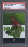 2003 Topps Pristine #189 Ryan Howard Rookie #0826/1499 PSA 10 (GEM MT) *0499