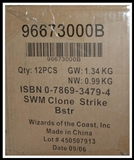 WOTC Star Wars Miniatures Clone Strike Booster Case (12Ct)
