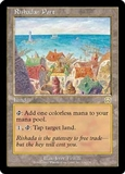 Magic the Gathering Mercadian Masques Single Rishadan Port - SLIGHT PLAY (SP)