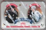 1997/98 Donruss Preferred Hockey Double-Wide Tin Pack - Hossa RC!