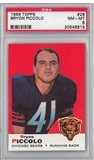 1969 Topps Football Bryon Piccolo PSA 8 (NM-MT) *6615