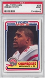 1984 Topps USFL Football #58 Reggie White  PSA 9 (MINT) Rookie *9602