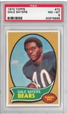 1970 Topps Football Gale Sayers PSA 8 (NM-MT) *9888