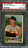1952 Bowman Baseball #30 Red Schoendienst PSA 4 (VG-EX) *8975