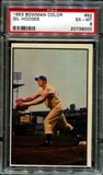 1953 Bowman Color Baseball #92 Gil Hodges PSA 6 (EX-MT) *9000