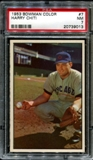 1953 Bowman Color Baseball #7 Harry Chiti Rookie PSA 7 (NM) *9013