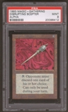 Magic the Gathering Alpha Single Disrupting Scepter PSA 9