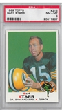 1969 Topps Football Bart Starr PSA 8 (NM-MT) *7967