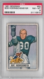 1951 Bowman Football Bob Hoernschemeyer PSA 8 (NM-MT) *0510