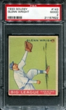 1933 Goudey Baseball #143 Glenn Wright PSA 2 (GOOD) *7622