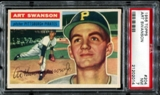 1956 Topps Baseball #204 Art Swanson PSA 7 (NM) *2014