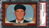 1955 Bowman Baseball #293 Thomas D. Gorman PSA 5 (EX) *3951