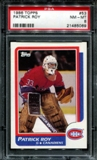 1986/87 Topps Hockey #53 Patrick Roy Rookie PSA 8 (NM-MT) *5069