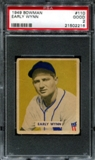 1949 Bowman Baseball #110 Early Wynn PSA 2 (GOOD) *2216