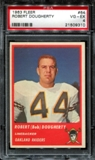 1963 Fleer Football #64 Robert Dougherty PSA 4 (VG-EX) *9310
