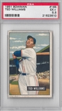 1951 Bowman Baseball #165 Ted Williams PSA 5.5 (EX+) *3610