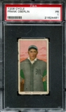 1909-11 T206 Cycle Frank Oberlin PSA 1 (PR) *4481