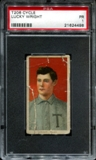 1909-11 T206 Cycle Lucky Wright PSA 1 (PR) *4498