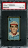 1911 T205 Gold Border Cycle Frank Corridon PSA 3 (VG) *4508