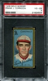 1911 T205 Gold Border Cycle Frank Corridon PSA 4 (VG-EX) *4509
