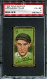1911 T205 Gold Border Cycle Arthur Fletcher PSA 4 (VG-EX) *4526