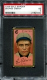 1911 T205 Gold Border Cycle George Gibson PSA 3 (VG) *4532