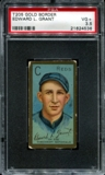 1911 T205 Gold Border Cycle Edward Grant PSA 3.5 (VG+) *4536