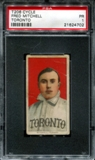 1909-11 T206 Cycle Fred Mitchell (Toronto) PSA 1 (PR) *4702