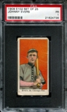1909 E102 Set Of 25 Johnny Evers PSA 1 (PR) *4736