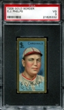 1911 T205 Gold Border Cycle Eddie Phelps PSA 3 (VG) *5332