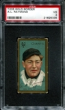 1911 T205 Gold Border Cycle Bugs Raymond PSA 3 (VG) *5335