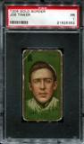 1911 T205 Gold Border Cycle Joe Tinker PSA 1 (PR) *5352