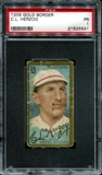 1911 T205 Gold Border Cycle Charles Herzog PSA 1 (PR) *5541
