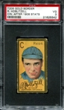 1911 T205 Gold Border Cycle Richard Hoblitzell (Cin. After 1908 Stats) PSA 3 (VG) *5542