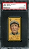 1911 T205 Gold Border Cycle Sam Leever PSA 3 (VG) *5553