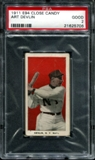 1911 E94 Close Candy Art Devlin PSA 2 (GOOD) *5706