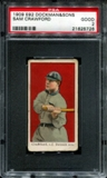 1909 E92 Dockman & Sons Sam Crawford PSA 2 (GOOD) *5726