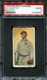 1909 E95 Philadelphia Caramel Ed Willetts (Willett) PSA 2 (GOOD) *5839